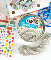 Celebrate Sparkle Thinking Putty