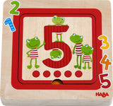 Counting Friends Layered Wooden Puzzle
