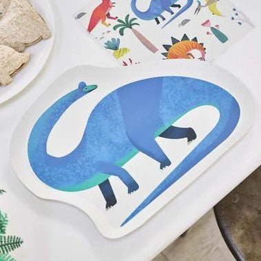 Dinosaur Shaped Party Plates