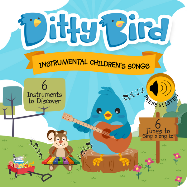 Instrumental Children's Songs Interactive Sound Book