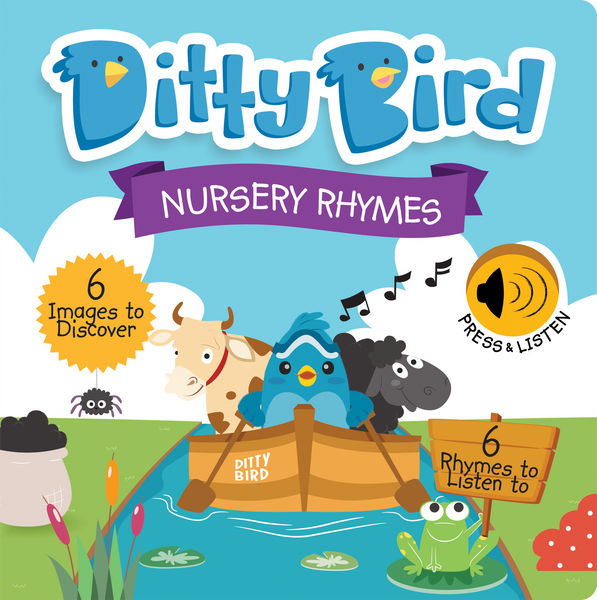 Nursery Rhymes Interactive Sound Book