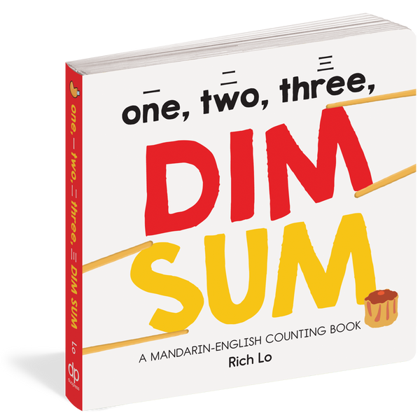 One, Two, Three Dim Sum Counting Board Book