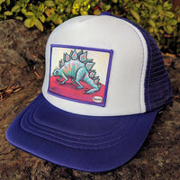 Little Henry Stegosaurus Trucker Hat