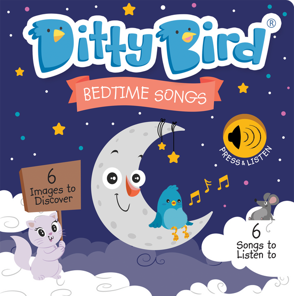 Bedtime Songs Interactive Sound Book