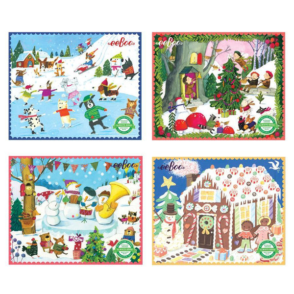 36 Piece Mini Holiday Puzzle