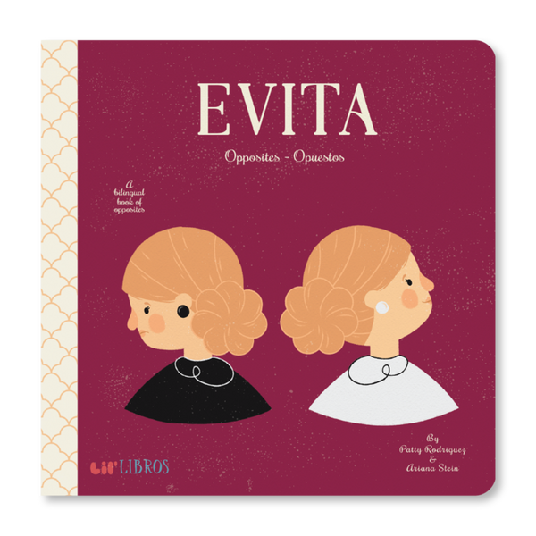 Evita: Opposites Bilingual Board Book