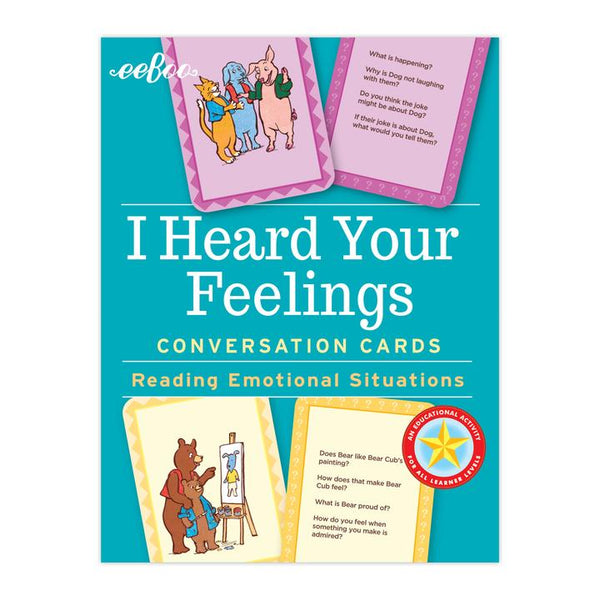 I Heard Your Feelings Conversation Flash Cards