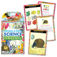 Natural & Earth Science Flash Cards