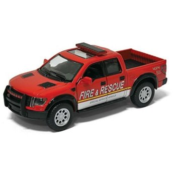 "Diecast 5"" Fire & Rescue Ford F-150 Truck"