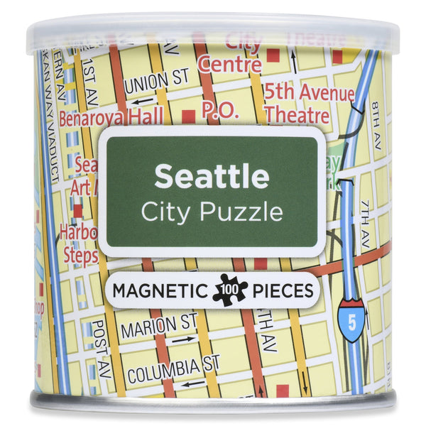 Seattle Magnetic Puzzle in a Can