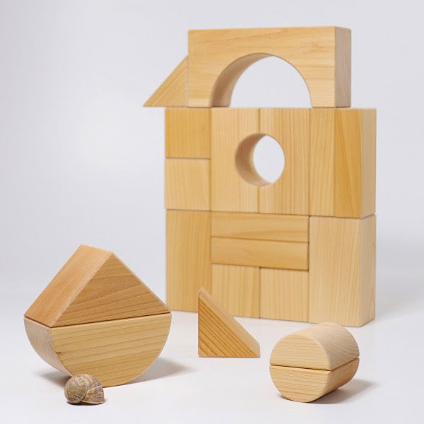 Grimm's Wooden Giant Building Blocks