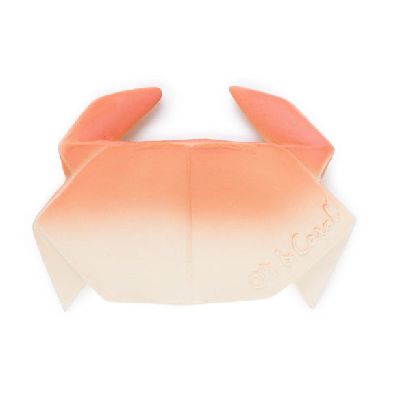 Origami Crab Teether