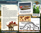 Stegosaurus 3D Wood Modeling Kit