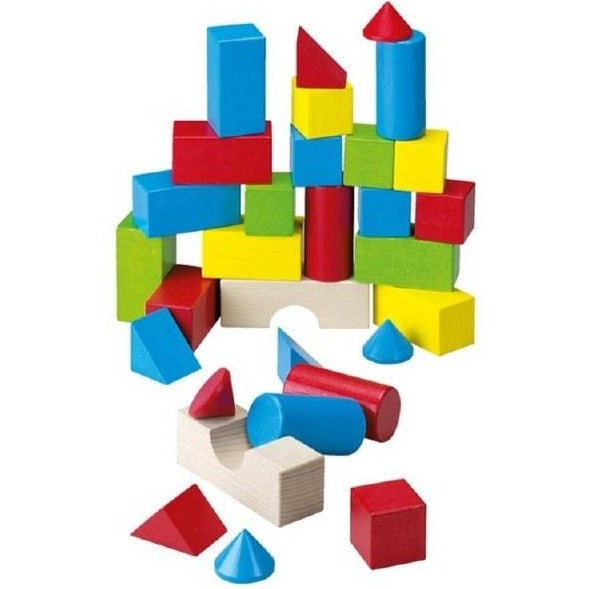 Colored 30 Building Blocks Set