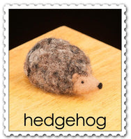 Hedgehog Needle Felting Kit - Easy
