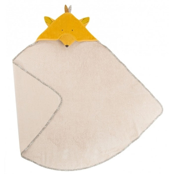 Le Voyage d'Olga Fox Hooded Towel