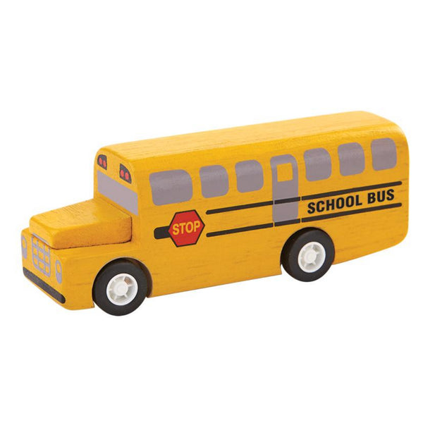 Small Wooden School Bus