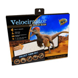 Velociraptor 3D Wood Modeling Kit