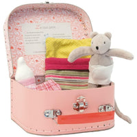 Baby Nini Mouse Plush Doll & Suitcase