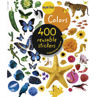 Colors Eyelike Reusable Stickers
