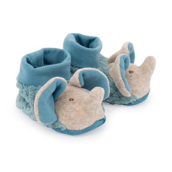 Sous Mon Baobab Elephant Baby Slippers