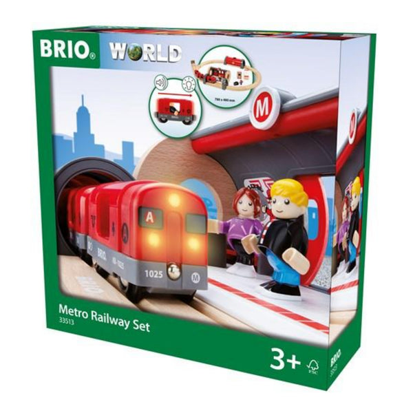 Brio Metro Railway Train Set