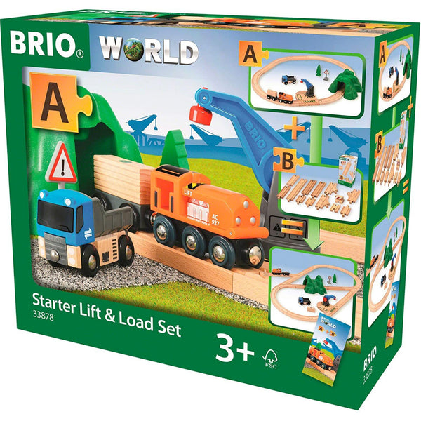 Brio Starter Lift & Load Train Set