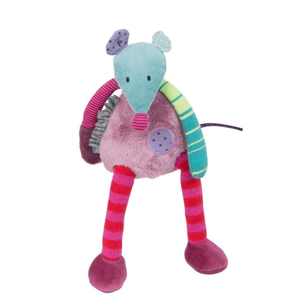 "Patchwork Mouse 12"" Plush"