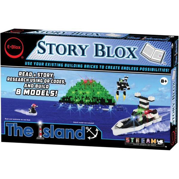 The Island Light-Up Building Blocks