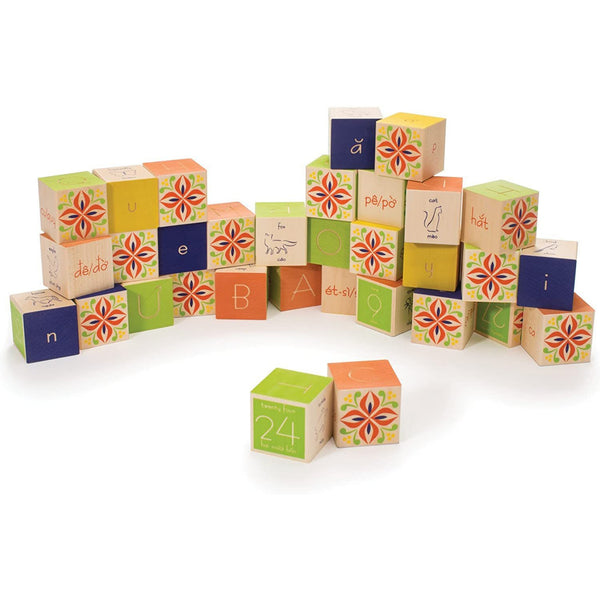 Vietnamese Wooden Blocks