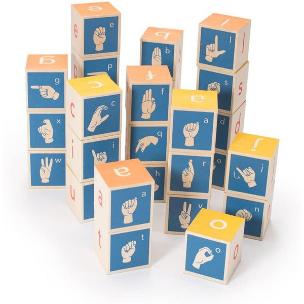 ASL Wooden Blocks