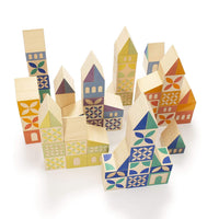 Gosling Square Wooden Building Blocks