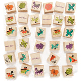 Mary Blair Wooden Memory Game