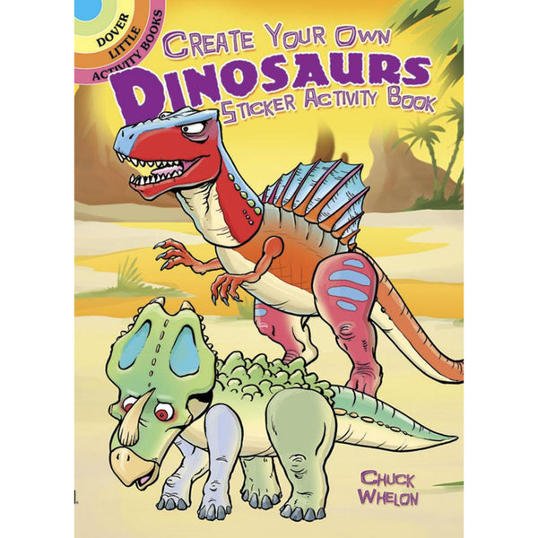 Create Your Own Dinosaur Sticker Activity Book