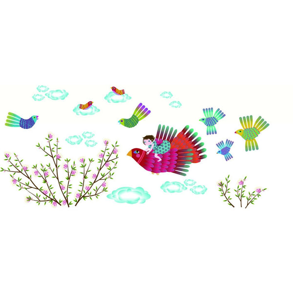 Soar Free Re-Positionable Wall Stickers