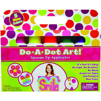 5 Neon Dot Markers