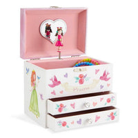 Princess Musical Jewelry Box with 2 Drawers