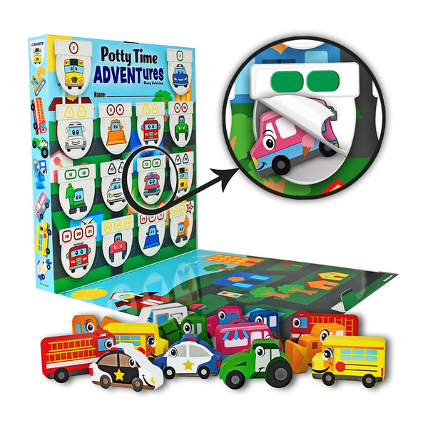 Busy Vehicles Potty Time ADVENTures
