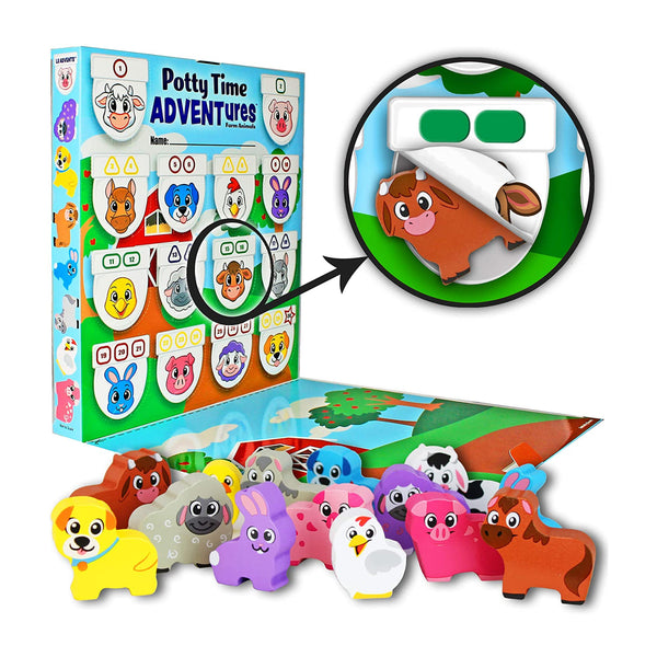 Farm Animals Potty Time ADVENTures