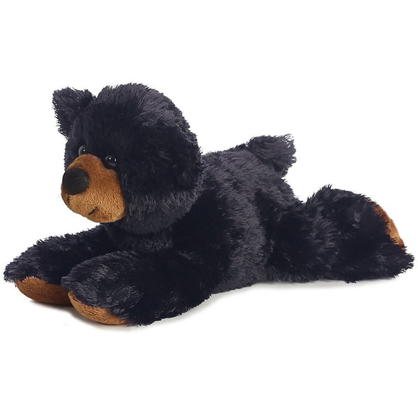 "Sullivan Black Bear 8"" Flopsie Plush"