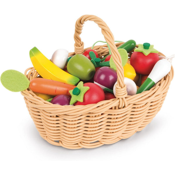 24 Piece Fruit & Vegetable Basket