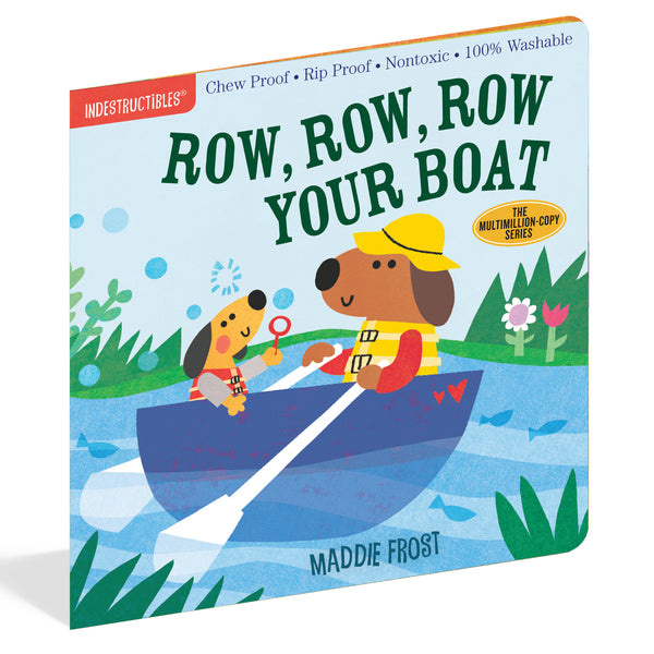 Row, Row, Row Your Boat Indestructible Book
