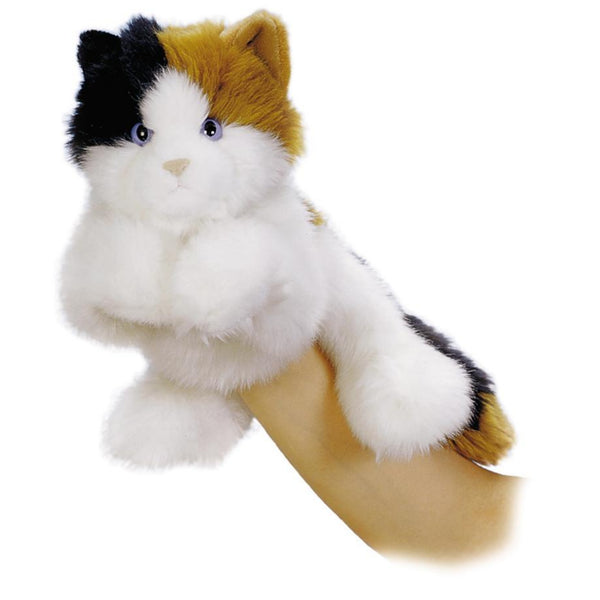 "Esmeralda the Calico Cat 11"" Hand Puppet"