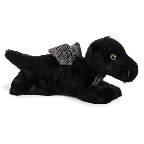 "Midnight Dragon 8"" Flopsie Plush"