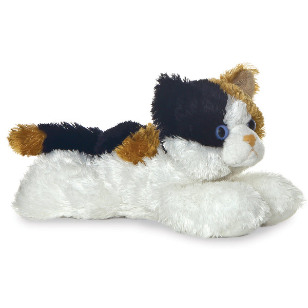 "Esmeralda the Calico Cat 8"" Flopsie Plush"