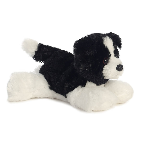 "Cami the Border Collie 8"" Flopsie Plush"