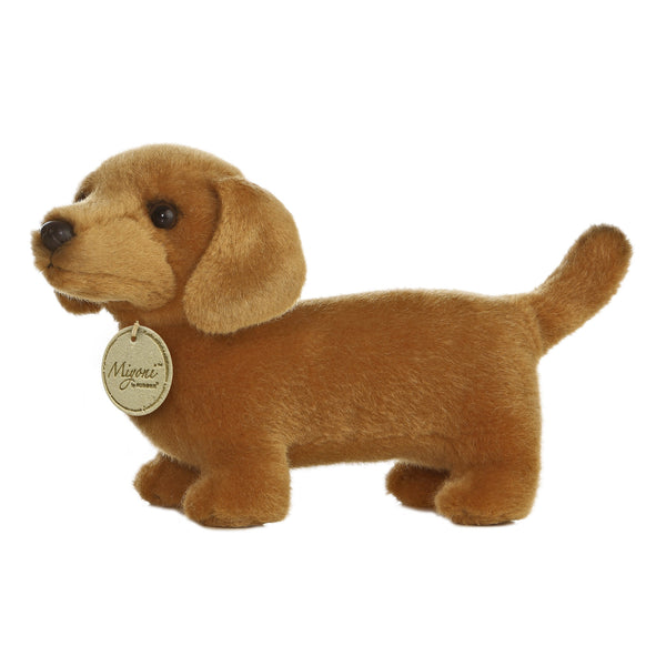 "Dachshund Dog 8"" Miyoni Plush"