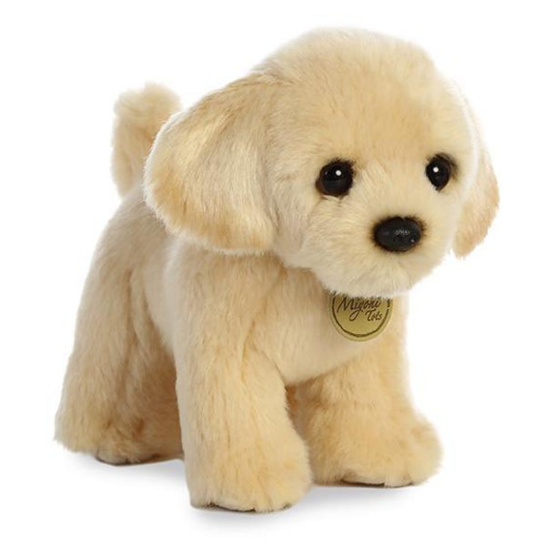 "Golden Lab Puppy 10"" Miyoni Tots Plush"