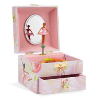 Ballerina Bianca Rose Musical Jewelry Box with Drawer