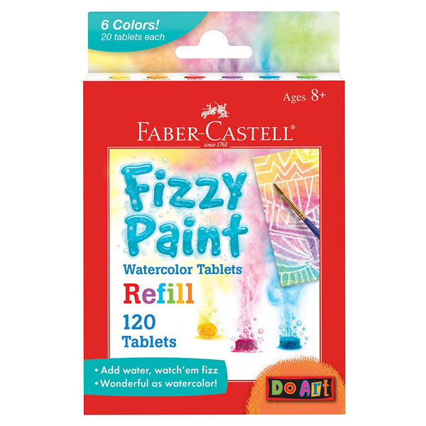 Fizzy Paint Watercolor Tablets Refill